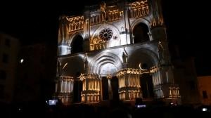 Испанский Кафедральный Собор с архитектурным 3D mapping