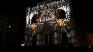 Фантастический 3D mapping на испанский Кафедральный Собор