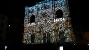 3D mapping на фасад испанского Кафедрального Собора