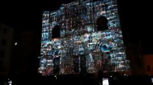 Видеомэппинг на фасаде испанского Кафедрального Собора