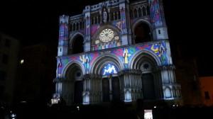 Видеомэппинг на фасад испанского Кафедрального Собора