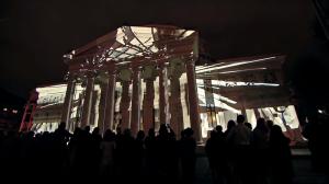 Поражающий видеомэппинг на George Enescu International Competition 2016