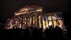Поразительный видеомэппинг на George Enescu International Competition 2016