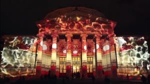 Восхитительный видеомэппинг на George Enescu International Competition 2016