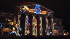 Удивительный 3D mapping на George Enescu International Competition 2016