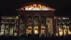 Удивительный видеомэппинг на George Enescu International Competition 2016