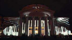 Поражающий 3D mapping на George Enescu International Competition 2016