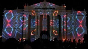 Поражающий видеомэппинг на индийском фестивале Mysore Dasara