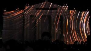 Восхитительный 3D mapping на индийском фестивале Mysore Dasara