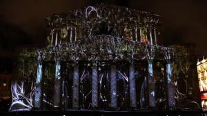 Архитектурный 3D mapping на Большой Театр