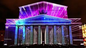 Видеомэппинг на фасад Большого Театра