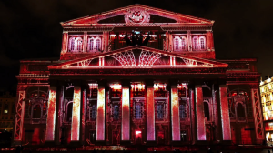 Архитектурный видеомэппинг на фасад Большого Театра