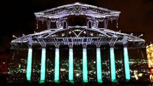 Архитектурный видеомэппинг на Большой Театр