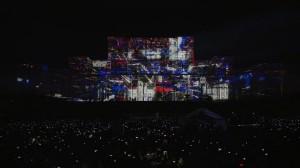 Дворец Парламента и архитектурный видеомэппинг на его фасаде