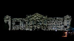 Архитектурный 3D mapping на Дебреценский Университет