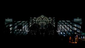 Архитектурный видеомэппинг на Дебреценский Университет
