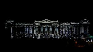 Дебреценский Университет и архитектурный 3D mapping на его фасаде