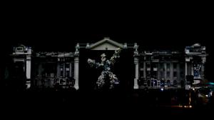 Дебреценский Университет и архитектурный видеомэппинг на его фасаде