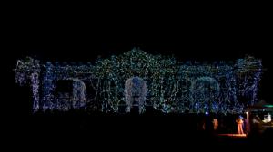 Дебреценский Университет с архитектурным 3D mapping