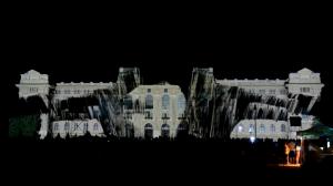 Дебреценский Университет с архитектурным видеомэппингом