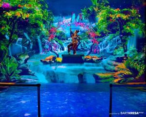 3D mapping с виртуальной реальностью на Palm Expo Mumbai 2014