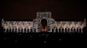 Архитектурный 3D mapping на Дворцовой площади Лиссабона