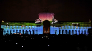 lissabon-6aФантастический 3D mapping на Дворцовой площади Лиссабона