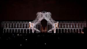 Поражающий 3D mapping на Дворцовой площади Лиссабона