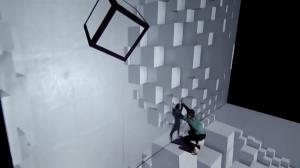Видеомэмппинг и танец вопреки законам физики